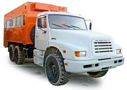 КамАЗ-4355 вахтовый автобус