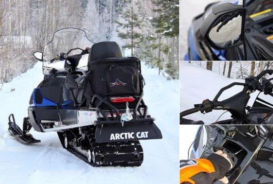 Конструкция снегохода Arctic Cat Bearcat 570 XT
