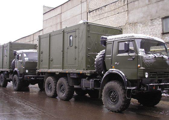 Контейнер КамАЗ 5350