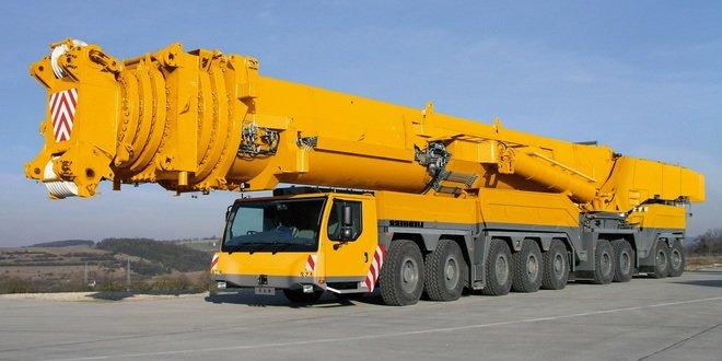 Кран Либхер 100 тонн