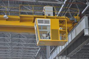 Крановая кабина для оператора мостового крана