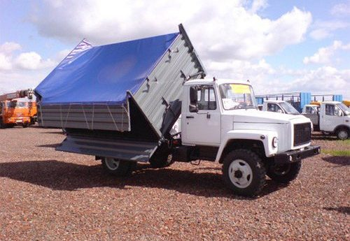 Кузов ГАЗ-САЗ-35071 с тентом