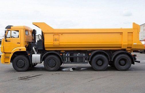 Кузов овальной формы на КамАЗ 65201