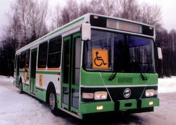 ЛиАЗ-5256 для инвалидов
