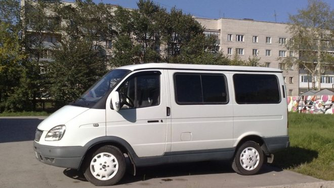 Машина Баргузин (Соболь) 2217