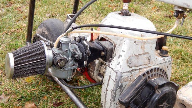 Мотор бензопилы Урал