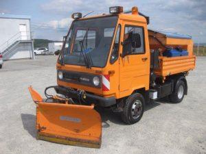 Multicar M26 с навесным оборудованием