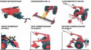 Навесное оборудование для Беларус 09Н