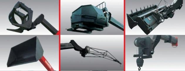 Навесное оборудование для погрузчиков MLT-X