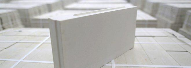 Пазогребневые блоки для перегородок в доме