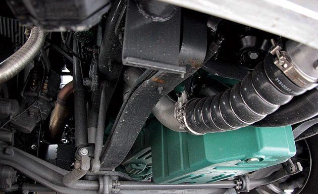 Передняя подвеска Volvo FH16 750