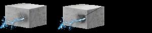 Подготовка поверхности бетона для заделки течи