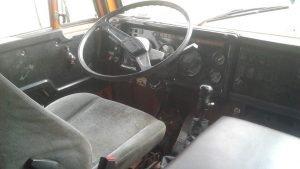 Рабочее место водителя КамАЗ-55111