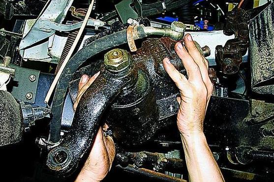 Регулировка рулевого механизма с гидроусилителем автомобиля Газель