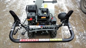 Рычаги управления снегоуборщиком Интерскол СМБ-650Э