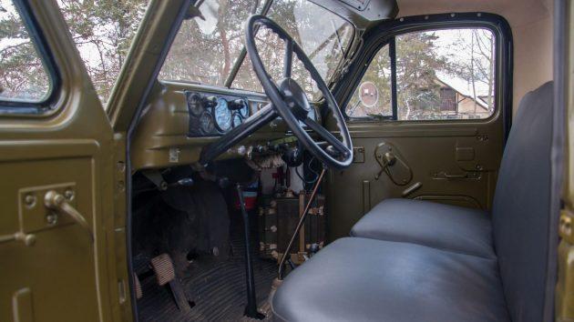Салон ГАЗ-63