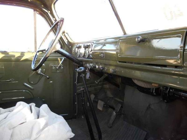 Салон грузовика ГАЗ-51