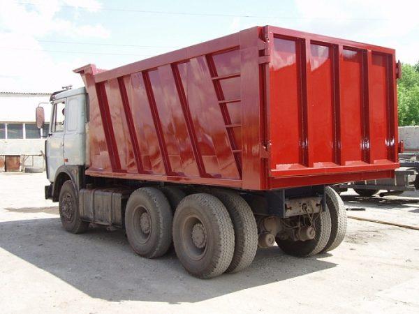 Самосвальный кузов на МАЗ 551605