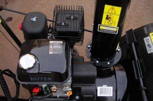 Снегоуборщик Huter SGC 4100 - вид сверху