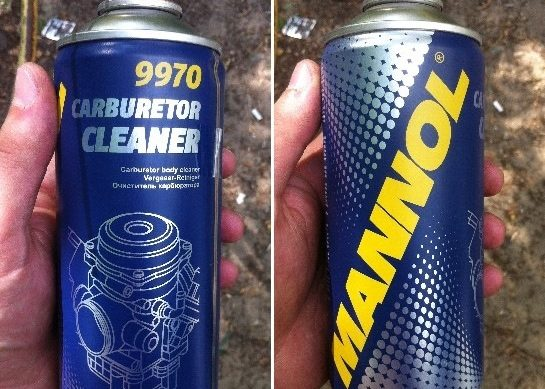 Средство для чистки карбюратора