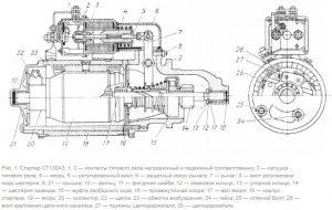 Стартер CT130A3 автомобиля ЗИЛ-431410