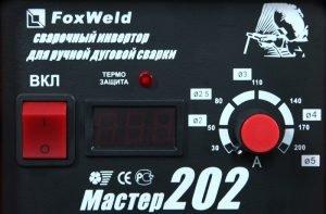 Сварочный инвертор Master 202