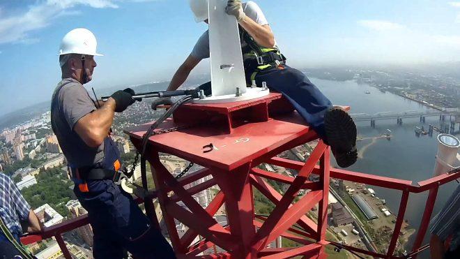 Теехника безопасности при работе на высоте
