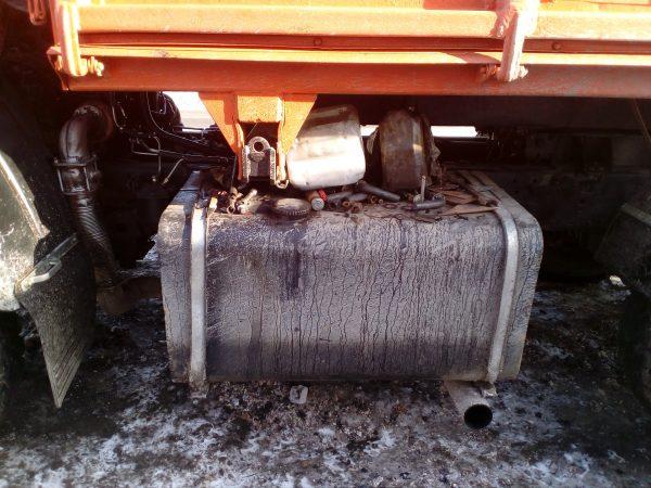Топливный бак КамАЗ 55102