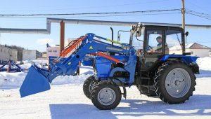 Трактор МТЗ-1025 с навесным оборудованием
