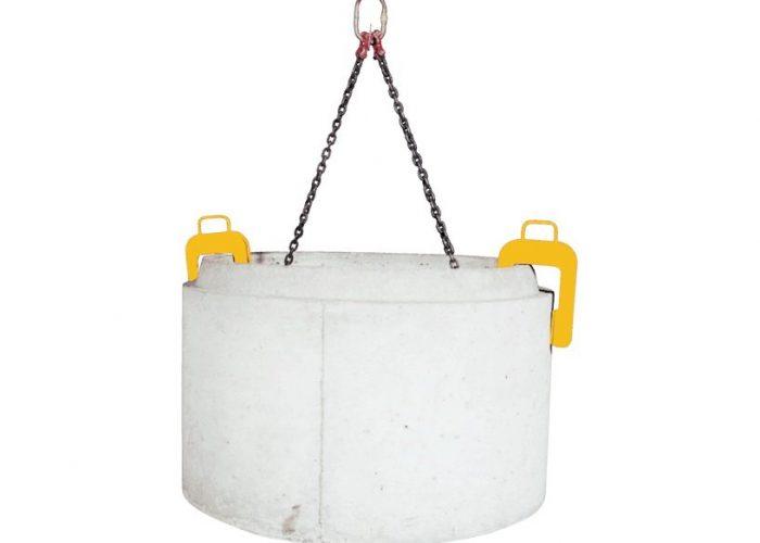 Устройство для подъёма бетонных колец