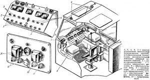 Устройство кабины крана КС-5363