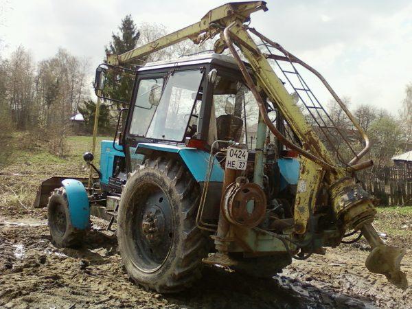 Ямобур БМ-205-В