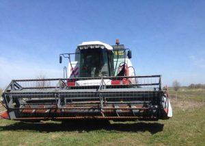 Зерновая жатка на Acros 530