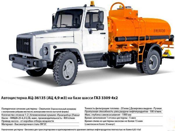 Автоцистерна АЦ-36135