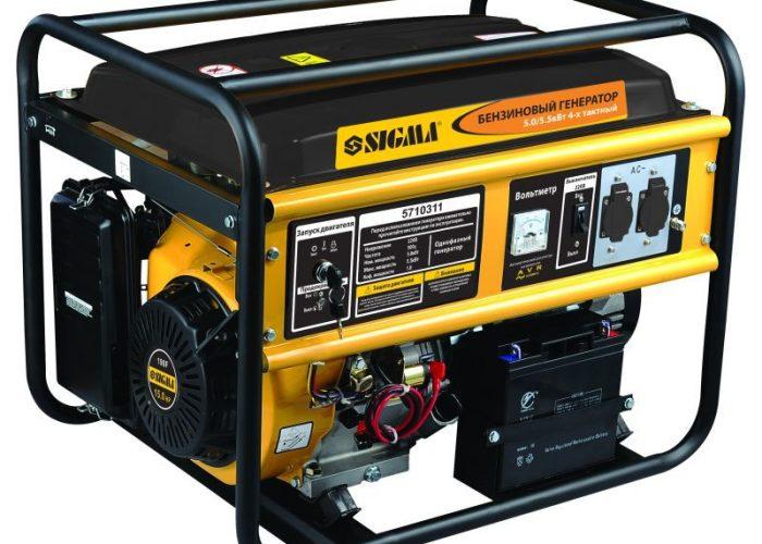 Бензиновый генератор четырехтактный