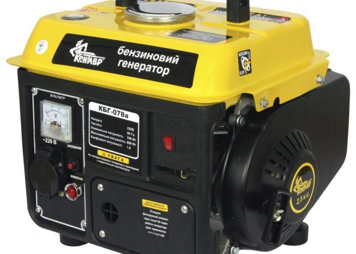 Бензиновый генератор двухтактный