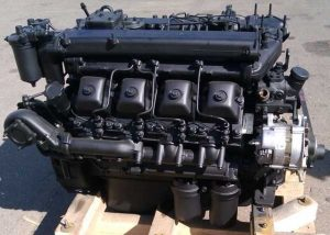 Двигатель КамАЗ-740 - вид сбоку