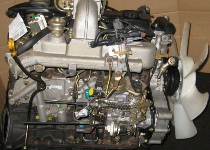 Двигатель Nissan TD27T на Газель