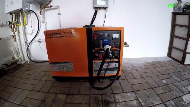 Газогенератор GazLux CC5000D