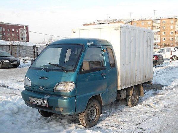 Изотермический фургон FAW-1010