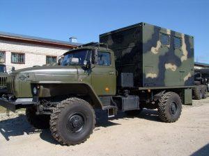 Кузов контейнер Урал-43206
