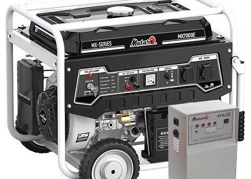 Однофазный бензиновый генератор