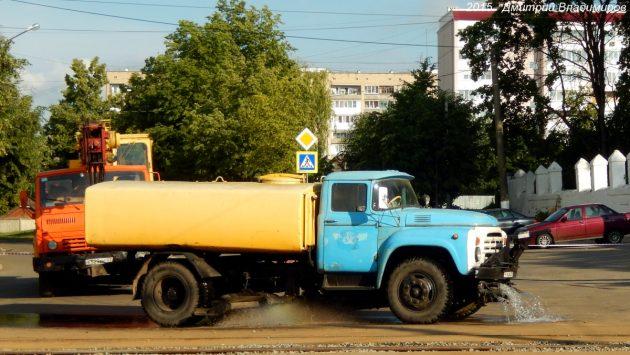 Поливомоечная машина КО-829 на шасси ЗИЛ-431412