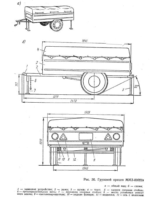 Прицеп ММЗ-81021