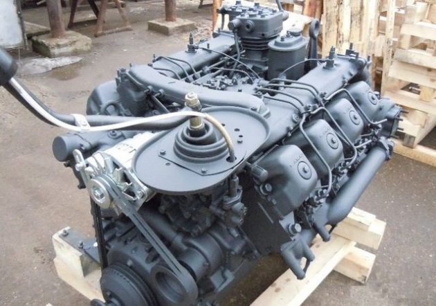 Промывка двигателя КамАЗ 740