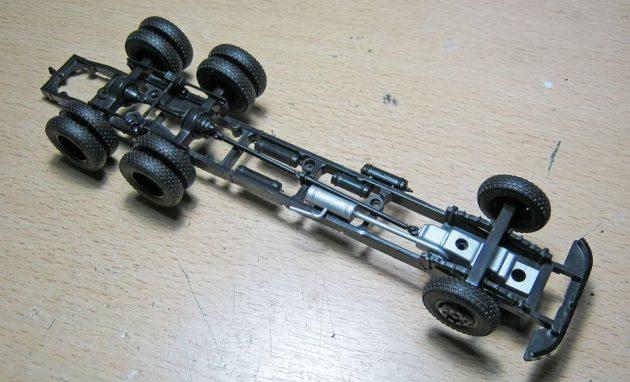 Рама модели ЗИЛ-133ГЯ