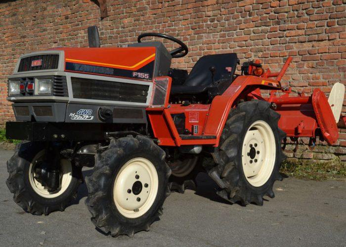 Садовый трактор YANMAR