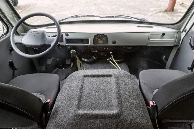 Салон УАЗ-3741