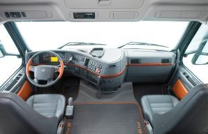 Салон Volvo FH12
