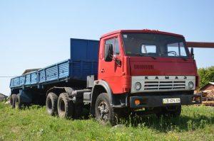 Седельный тягач КамАЗ-5410 с полуприцепом ОдАЗ-9370